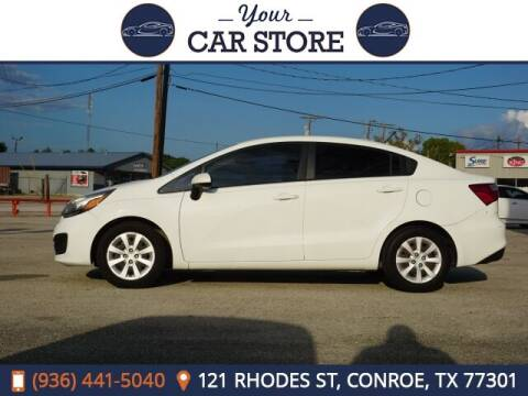 2016 Kia Rio for sale at Your Car Store in Conroe TX
