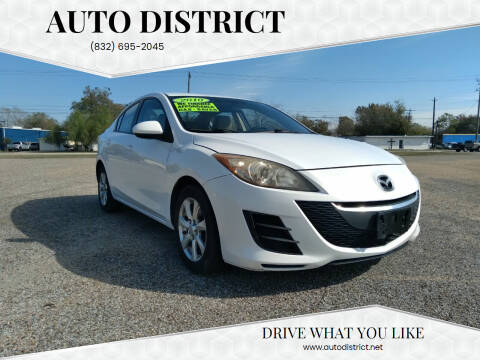 2010 Mazda MAZDA3 for sale at Auto District in Baytown TX