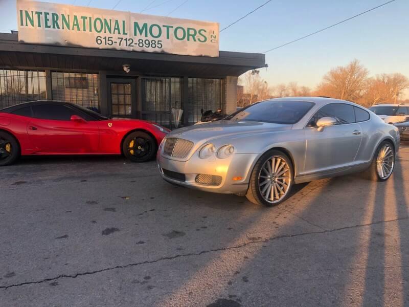 2005 Bentley Continental for sale at International Motors Inc. in Nashville TN