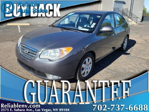 2007 Hyundai Elantra for sale at Reliable Auto Sales in Las Vegas NV