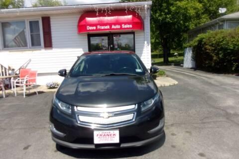 2014 Chevrolet Volt for sale at Dave Franek Automotive in Wantage NJ
