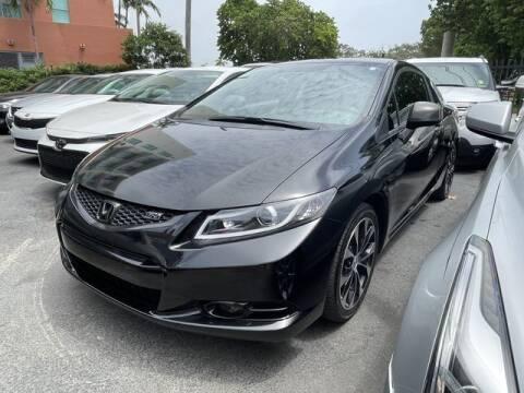 2013 Honda Civic for sale at Meru Motors in Hollywood FL