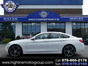 2019 BMW 4 Series for sale at Highline Group Motorsports in Lowell MA