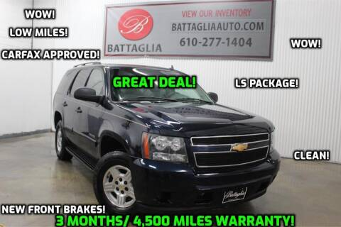 2007 Chevrolet Tahoe for sale at Battaglia Auto Sales in Plymouth Meeting PA