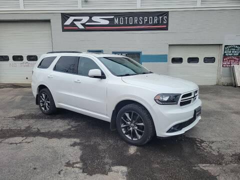 2018 Dodge Durango for sale at RS Motorsports, Inc. in Canandaigua NY
