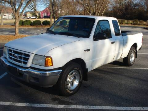 2001 Ford Ranger for sale at Uniworld Auto Sales LLC. in Greensboro NC