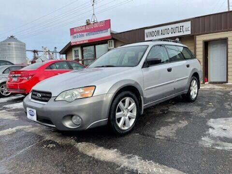 2006 Subaru Outback for sale at WINDOM AUTO OUTLET LLC in Windom MN
