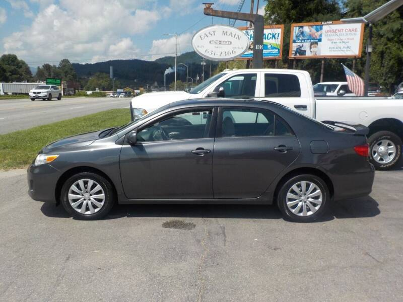 2013 Toyota Corolla for sale at EAST MAIN AUTO SALES in Sylva NC