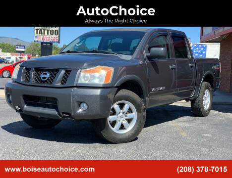 2010 Nissan Titan for sale at AutoChoice in Boise ID