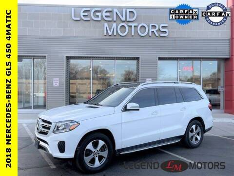 2018 Mercedes-Benz GLS for sale at Legend Motors of Waterford in Waterford MI