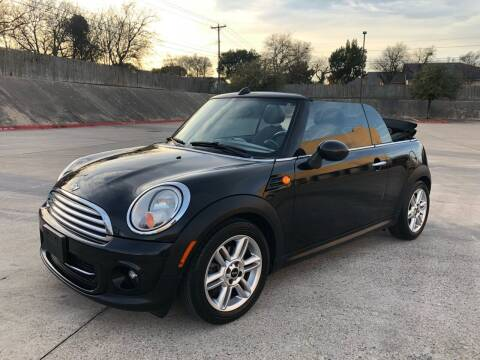 2012 MINI Cooper Convertible for sale at Royal Auto LLC in Austin TX
