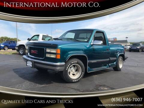1997 GMC Sierra 1500 for sale at International Motor Co. in St. Charles MO
