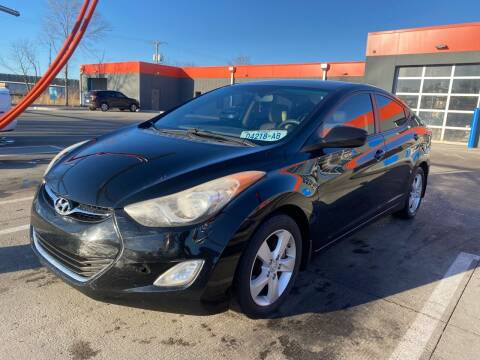 2012 Hyundai Elantra for sale at Xtreme Auto Mart LLC in Kansas City MO