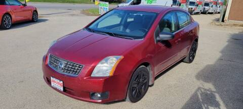 2007 Nissan Sentra for sale at AMAZING AUTO SALES in Marengo IL