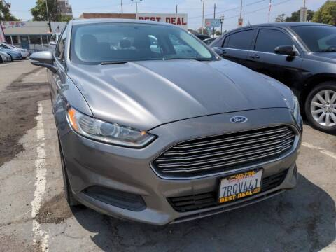 2013 Ford Fusion for sale at Best Deal Auto Sales in Stockton CA