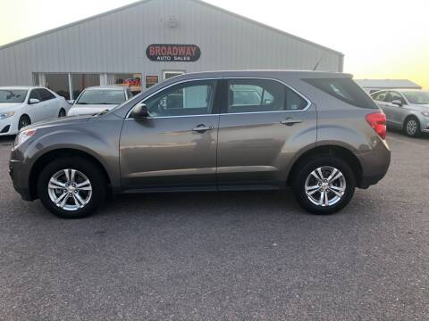 2010 Chevrolet Equinox for sale at Broadway Auto Sales in South Sioux City NE