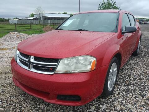 2014 Dodge Avenger for sale at Texas Country Auto Sales LLC in Austin TX