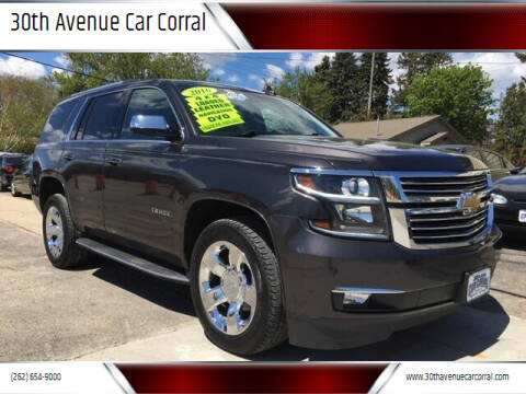 2016 Chevrolet Tahoe for sale at 30th Avenue Car Corral in Kenosha WI