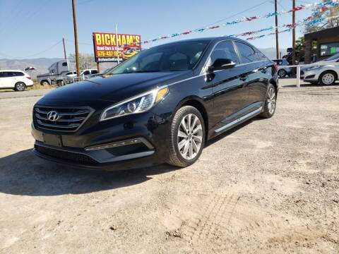 2016 Hyundai Sonata for sale at Bickham Used Cars in Alamogordo NM