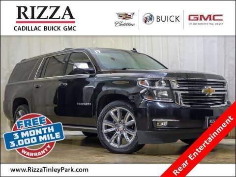 2017 Chevrolet Suburban for sale at Rizza Buick GMC Cadillac in Tinley Park IL