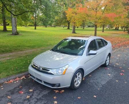 2009 Ford Focus for sale at NATIONAL AUTO SALES AND SERVICE LLC in Spokane WA