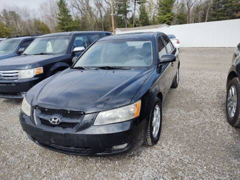 2006 Hyundai Sonata for sale at Hilltop Auto in Prescott MI