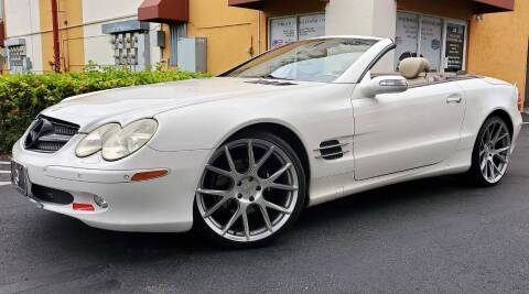 2005 Mercedes-Benz SL-Class for sale at POLLO AUTO SOLUTIONS in Miami FL