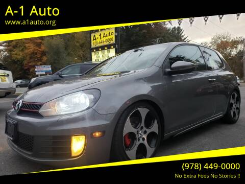 2011 Volkswagen GTI for sale at A-1 Auto in Pepperell MA