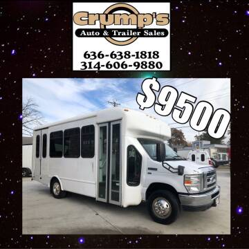 2014 Ford E-Series Chassis for sale at CRUMP'S AUTO & TRAILER SALES in Crystal City MO