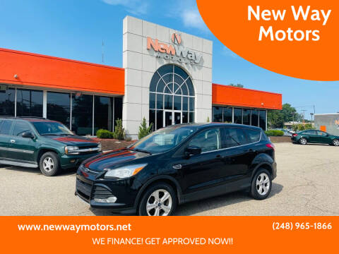 2016 Ford Escape for sale at New Way Motors in Ferndale MI