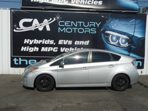 2015 Toyota Prius for sale at CENTURY MOTORS - Fresno in Fresno CA