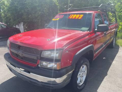 2003 Chevrolet Silverado 1500 for sale at Excel Auto Sales LLC in Kawkawlin MI