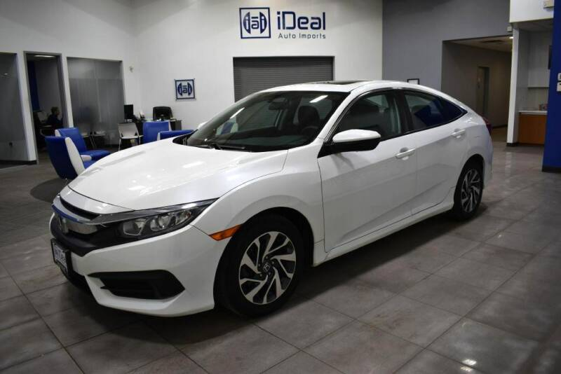 2017 Honda Civic for sale at iDeal Auto Imports in Eden Prairie MN