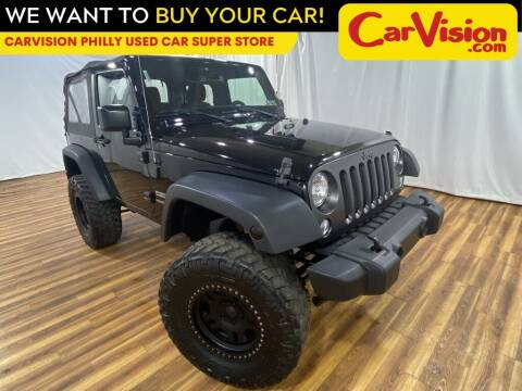 2015 Jeep Wrangler for sale at Car Vision Mitsubishi Norristown - Car Vision Philly Used Car SuperStore in Philadelphia PA