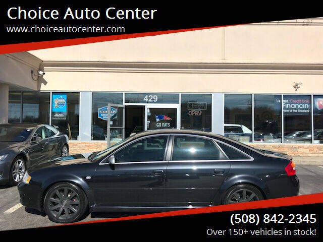 2003 Audi RS 6 for sale at Choice Auto Center in Shrewsbury MA