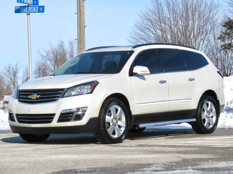 2015 Chevrolet Traverse for sale at Tonys Pre Owned Auto Sales in Kokomo IN