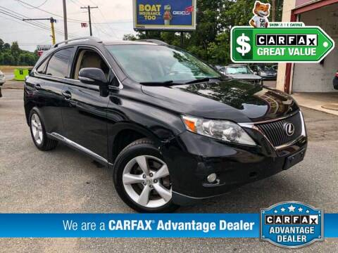 2012 Lexus RX 350 for sale at High Rated Auto Company in Abingdon MD