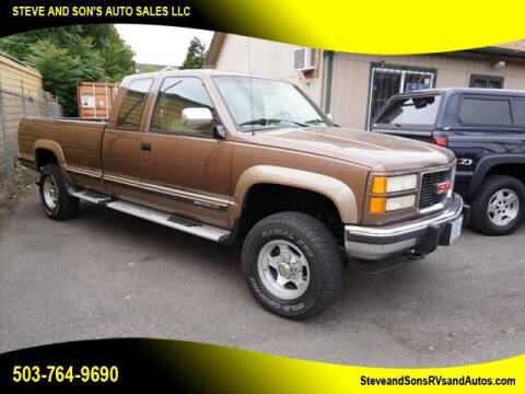 1994 GMC Sierra 2500 for sale at Steve & Sons Auto Sales in Happy Valley OR