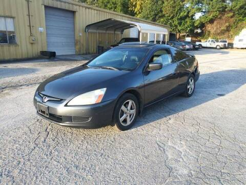 2004 Honda Accord for sale at J D USED AUTO SALES INC in Doraville GA