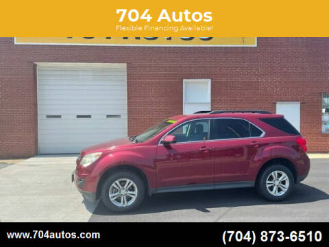 2011 Chevrolet Equinox for sale at 704 Autos in Statesville NC
