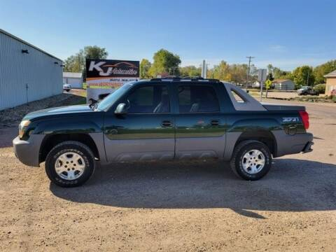 2002 Chevrolet Avalanche for sale at KJ Automotive in Worthing SD
