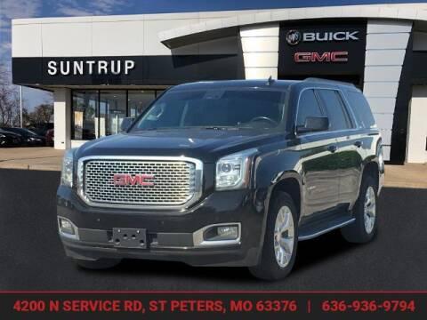 2016 GMC Yukon for sale at SUNTRUP BUICK GMC in Saint Peters MO