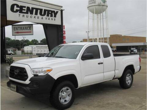 2019 Toyota Tacoma for sale at CENTURY TRUCKS & VANS in Grand Prairie TX