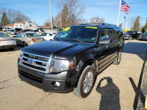2014 Ford Expedition EL for sale at Clare Auto Sales, Inc. in Clare MI