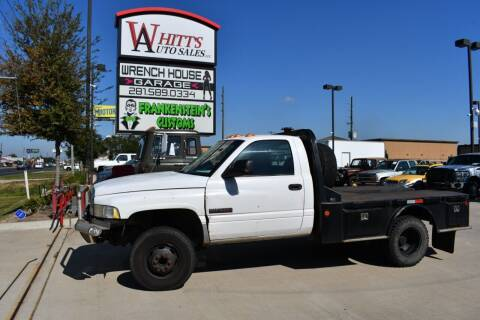 2002 Dodge Ram Chassis 3500 for sale at WHITT'S AUTO SALES, LLC in Houston TX