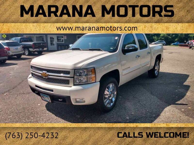 2013 Chevrolet Silverado 1500 for sale at Marana Motors in Princeton MN