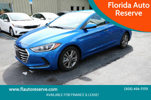 2018 Hyundai Elantra for sale at Florida Auto Reserve in Medley FL