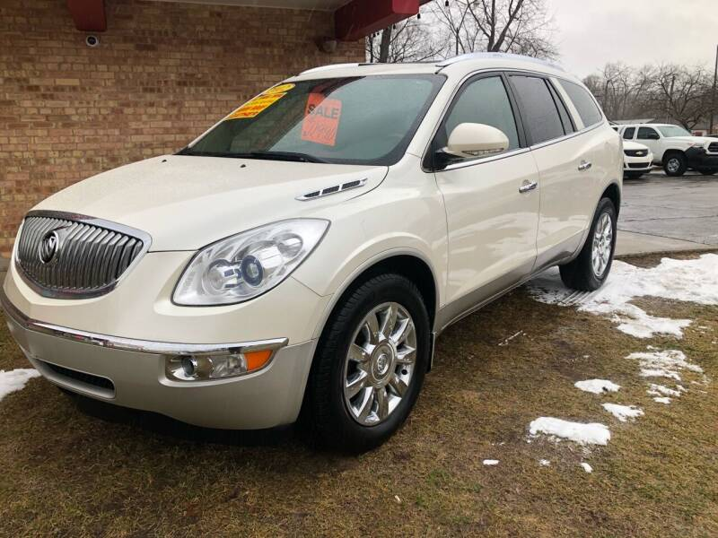 2012 Buick Enclave for sale at Murdock Used Cars in Niles MI