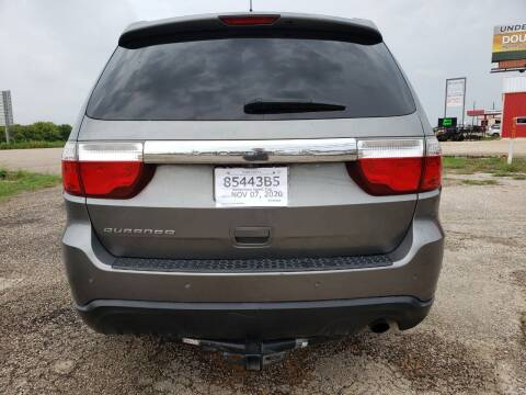 2012 Dodge Durango for sale at Collins Auto Sales in Waco TX