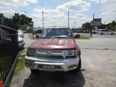 2002 Toyota 4Runner for sale at SCOTT HARRISON MOTOR CO in Houston TX